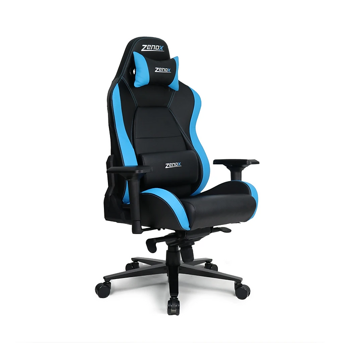 Zenox Racing Chair (Sky Blue)