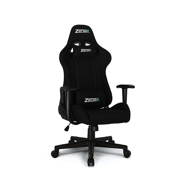 Featuring a sporty design, Zenox Pluto Series Racing Chairs are ideal for gamers who prefer a modest sized chair that will support them well for extended period of gaming sessions. The backrest and seat are covered with breathable fabric that provides remarkable cushioning and support to your body. The SGS* certified gas cylinder and BIFMA* approved castors offer stability you could rely on. Sit like a pro, play like a pro with our Pluto Series Racing Chair.
