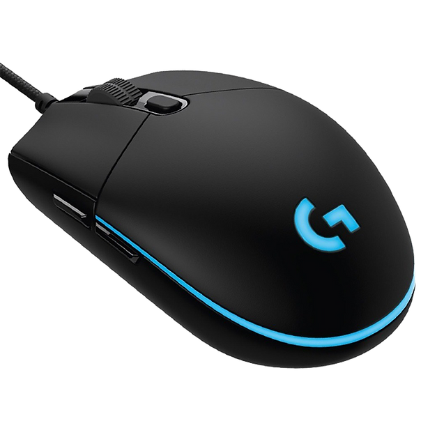 Make the most of your game time with G203 gaming mouse available in a variety of vibrant colors. With LIGHTSYNC technology, a gaming-grade sensor and a classic 6-button design you'll light up your game and your desk.