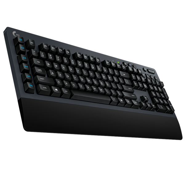 G613 is a next generation wireless keyboard designed for gamers who demand both the high performance capabilities of mechanical switches and the freedom of wireless gaming.