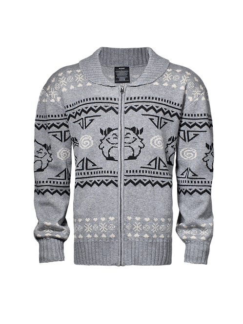 LOL - Poro Zip-Up Ugly Sweater