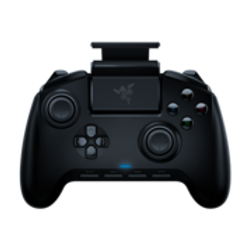 CONQUER ON THE GO Level up your mobile gaming performance. The Razer Raiju Mobile is a gaming controller that syncs with your mobile device and packed with full-fledged advanced features to give you the ultimate competitive edge. Wield the same power of our renowned flagship gaming controllers whether you're at home or on the go. UP TO A 60-DEGREE TILT Get the perfect viewing angle whether you're leaning back on a couch or gaming at your desk. The Razer Raiju Mobile features a flexible phone mount that you can adjust up to a 60-degree tilt for the perfect position. RAZER™ MECHA-TACTILE ACTION BUTTONS The devastating features that come with the popular Razer Raiju Ultimate is now built into the Razer Raiju Mobile—button actuation at high speed, a soft cushioned touch, and crisp tactile feedback. The Razer Raiju Mobile utilizes our signature Razer™ Mecha-Tactile Action Buttons to keep you a move faster than your opponents, as you enjoy a console experience with your mobile game. EXPERT CONTROL. ADVANCED CUSTOMIZATION. 1. Ergonomic Multi-Function Button Layout Individually remap each of the 4 multi-function buttons to your preferred command. With extended controls, the Razer Raiju Mobile lets you unlock a combination of moves to take your opponents by surprise. 2. Hair Trigger Mode Fractions of a second can be the difference between victory and defeat. By activating the mechanical stop-switches, you greatly reduce travel distance to the controller's main triggers so all you need is a slight press to launch full rapid fire. 3. Sensitivity Clutch Levels Assign the sensitivity clutch function to a multifunction button and hold it to temporarily decrease thumbstick sensitivity for precise aiming, especially useful when playing FPS games. 4. Mode Switch Easily switch between connectivity modes and paired devices without manual re-pairing.