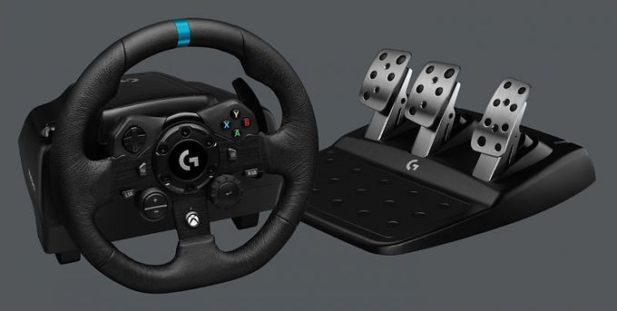 Logitech G G923 Racing Wheel and Pedals