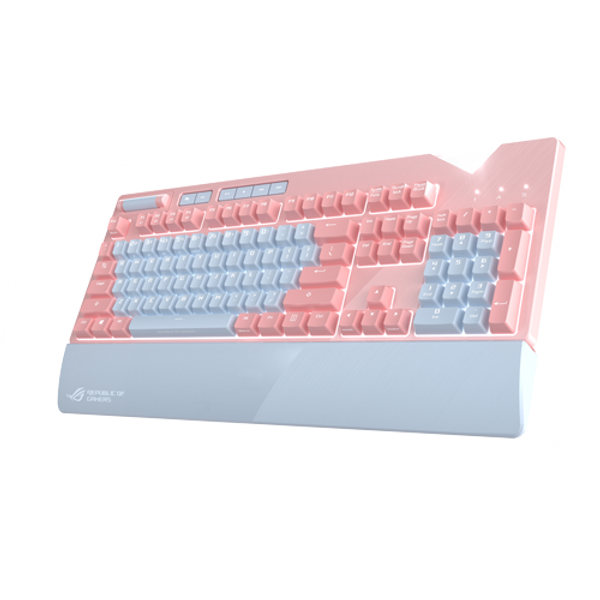 ROG Strix Flare PNK LTD RGB mechanical gaming keyboard