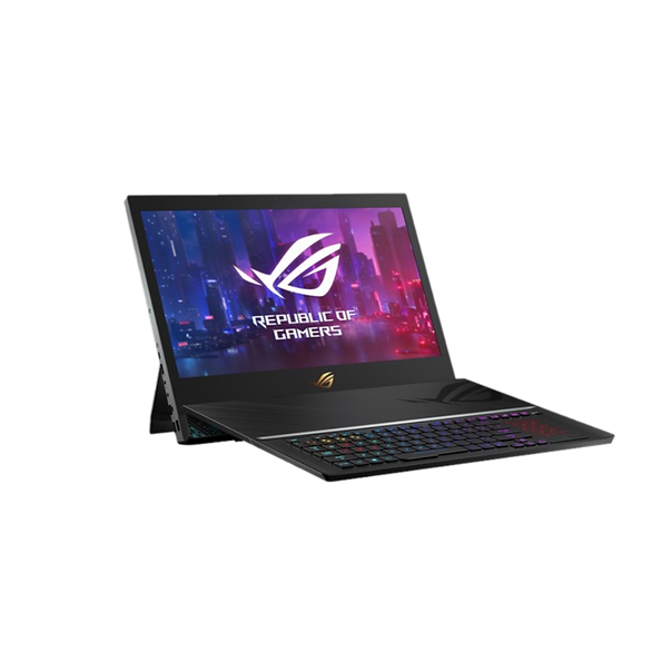 Laptops limit cooling and lock you into a fixed position that's needlessly rigid for desktop replacements, so we've reimagined the form factor to raise your game. ROG Mothership is a portable Windows 10 Pro powerhouse with an innovative standing design that enhances cooling for its factory overclocked GeForce RTX™ 2080 GPU and 9th Gen Intel® Core™ i9 eight-core CPU. Choose between G-SYNC™ displays with a detailed 4K resolution or blazing 144Hz refresh rate, and use the detachable keyboard to adapt to how you play. SSD RAID storage and 2.5G Ethernet bring ultra-fast performance to every part of this revolutionary gaming machine.