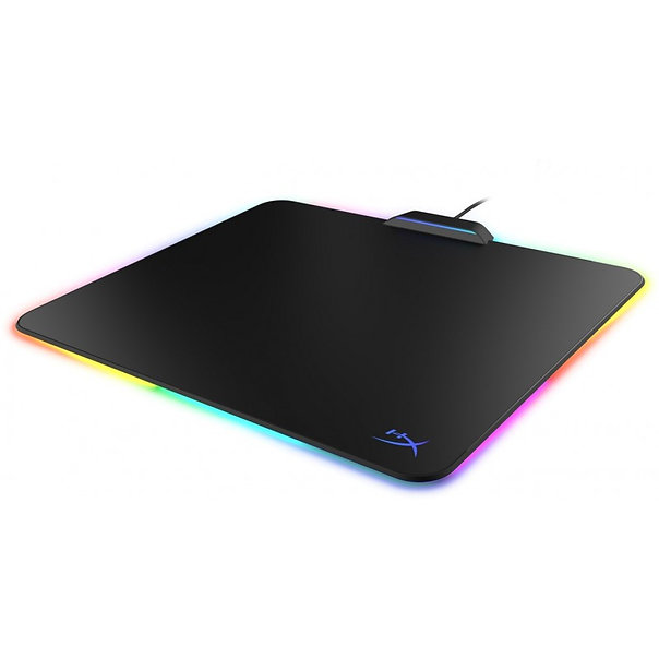 Boost your style with the brilliant HyperX FURY Ultra RGB mouse pad. It has 360° of smooth, stunning lighting and effects that you can customize to complement your system's style with HyperX NGENUITY Software. This hard surface mouse pad features a low-friction, micro-textured surface without raised edges so you'll get fast, fluid mouse movement. The FURY Ultra's non-slip grip underside helps it stay in place so you won't have to sacrifice performance for amazing style.