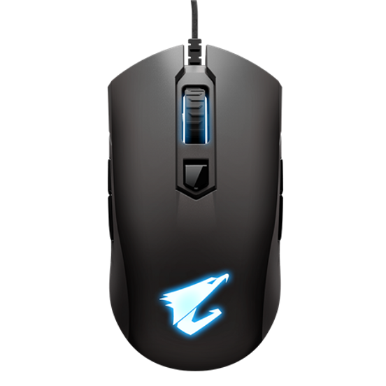 Ambidextrous design Real 6400 DPI optical engine with 50dpi increment 50-million-click Omron switch RGB Fusion 2.0 - synchronize with other AORUS devices Fully programmable buttons and saved onboard On-the-fly DPI adjustment