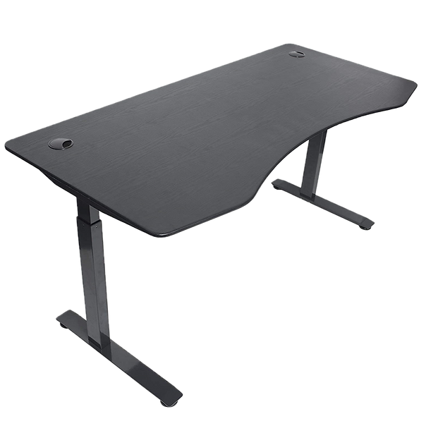 """The ApexDesk Elite Series launched in 2015 and was one of the first standing desks available, under $600, to include a desktop. At 71"""" wide by 33"""" deep, this desk is huge. While their other stats aren't as impressive as others in its class, for the size, ApexDesk appears to be a pretty good value."""