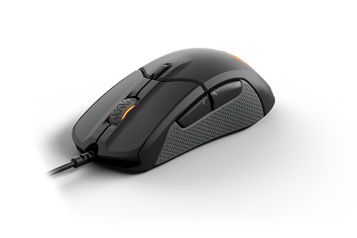 SteelSeries Rival 310 is a great gaming mouse for FPS and MMO. It's very comfortable to use for extended periods and its wired connection ensures low click latency. It is sensitive enough for most people and its CPI can be adjusted by increments of 100. You can also install the SteelSeries software on both Windows and macOS to programmed two side of buttons. The size of the mouse is also very good and suitable for palm grip with any hand size.