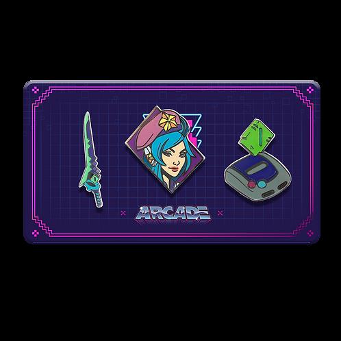 LOL - Arcade Pin Pack 電玩系列 別針包