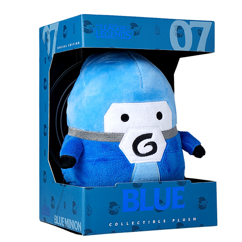 LOL - Blue Minion Plush 藍方小兵 毛絨公仔