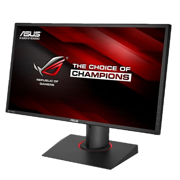 The 24-inch Full HD gaming monitor has an ultra-fast 1ms response time, which can eliminate unclear images and motion blur. The amazing overclockable 180Hz refresh rate and G-SYNC technology provide a smooth gaming experience. ASUS exclusive GamePlus shortcut keys can enhance game functions, while GameVisual can optimize visual effects ASUS Eye Care technology combined with ultra-low blue light and non-flicker screen technology certified by TÜV Rheinland, Germany, provides a comfortable viewing experience for the eyes. Compatible with NVIDIA® 3D Vision® 2 kit, opening a new world of 3D gaming for you VESA wall mount can save desktop space, and the ergonomically designed base has complete up and down tilt, left and right rotation, pivoting and height adjustment functions