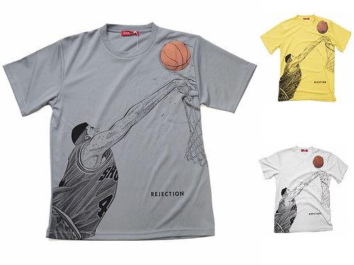 Slam Dunk T-Shirt (White/Grey/Yellow) - Takenori Akagi 赤木 剛憲