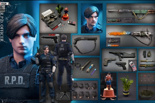 Bio Evil - Leo 1/12 R.P.D Officer S Ver.
