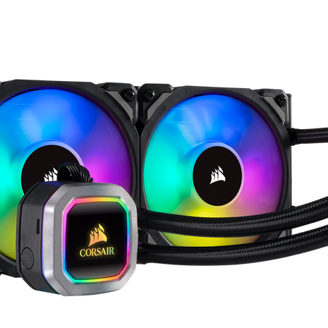 Corsair Hydro H100i RGB Platinum 240MM Liquid CPU Cooler