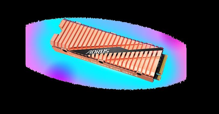 規格尺寸: M.2 2280 傳輸介面: PCI-Express 4.0 x4, NVMe 1.3 容量:500GB 連續讀取速度:最高達5000 MB/s** 連續寫入速度:最高達2500 MB/s** 支援損耗平均技術及超額配置(over-provisioning) 預留空間技術 支援TRIM 指令及 S.M.A.R.T 自我檢測分析報告技術 全包覆式純銅散熱片設計 保固: 5年保固
