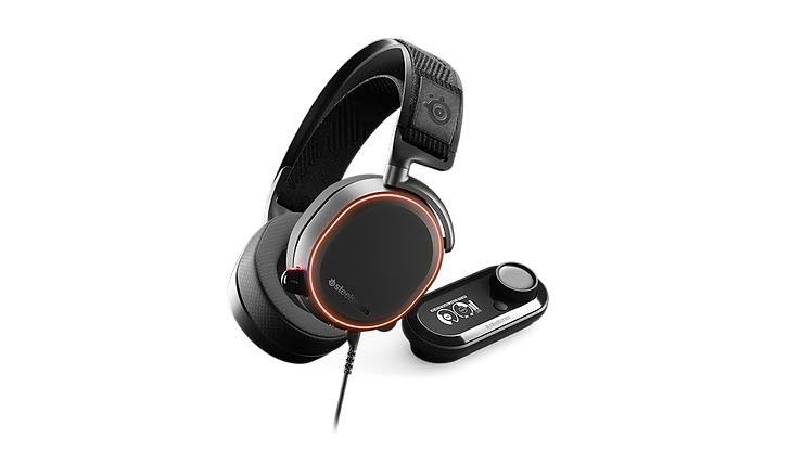 The SteelSeries Arctis Pro Wireless is one of the most full-featured gaming headsets. It is comfortable enough for longer gaming sessions and come with a DAC that offers a lot of connectivity options as well as customization features. The wired design makes you don't have to worry about lag. While they can sound different depending on who's wearing them, the DAC has a built-in EQ that allows you to tweak the sound to your liking on-the-go. The DAC also allows you to control channel mixing and it offers more connection options. Their retractable boom microphone captures voice clearly and can it can separate voice from background noise.