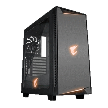 RGB Fusion-16.7M Customizable RGB Lighting Transparent Full Side Panel Window Support Vertical and Horizontal VGA Installation Liquid Cooling Capable HDMI and USB Type-C I/O Panel PSU Shroud Design Detachable Dust Filter