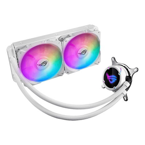 ASUS ROG Strix LC 240 RGB CPU cooler - White