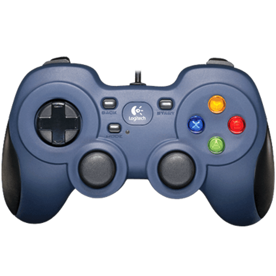 The Logitech Gamepad F310 looks like the product of a plastic mold designed to create garbage. Its beady little buttons will absolutely grow calluses on your thumb, and you will definitely flip the XInput/DirectInput switch on the back accidentally and spend 10 minutes trying to figure out why it isn't working.