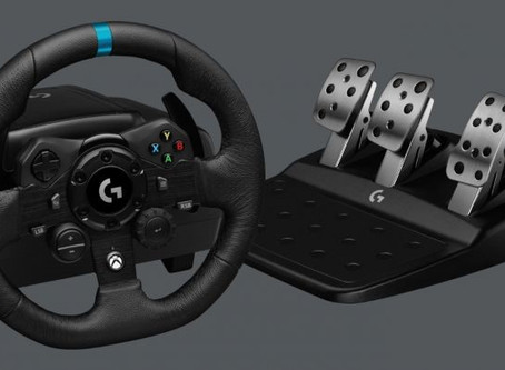 [Gaming Gear] Logitech G G923 Racing Wheel and Pedals