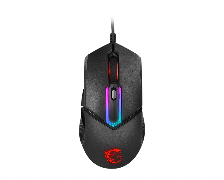 The MSI CLUTCH GM30 is designed for the unrivaled comfort experience while in gaming. The mouse featured the symmetrical shape, double injection moldingcrafted and polygonal designed side buttons make this weapon so alluring.