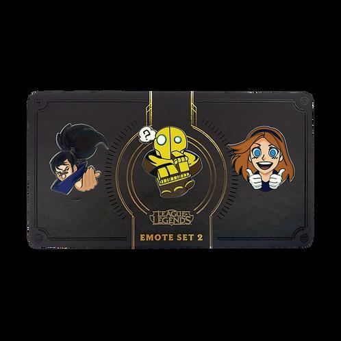 LOL - Emote Pin Pack 02 表情 別針包 02