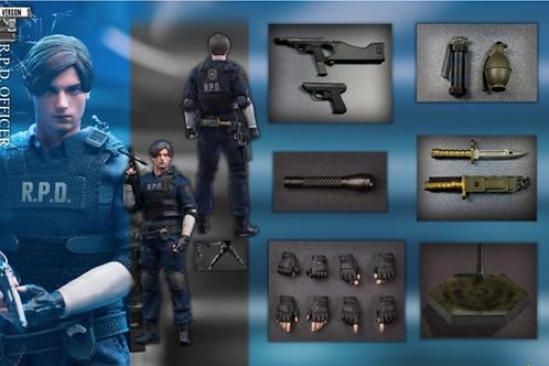 Bio Evil - Leo 1/12 R.P.D Officer A Ver.