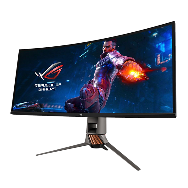 The Asus ROG Swift PG27UQ also makes a fine productivity monitor, with Windows 10 scaling very well to 4K. Due to its 27-inch size, we found scaling the desktop to 120% meant it was still comfortable to work on (without text and icons being too small), while also offering more desktop space.