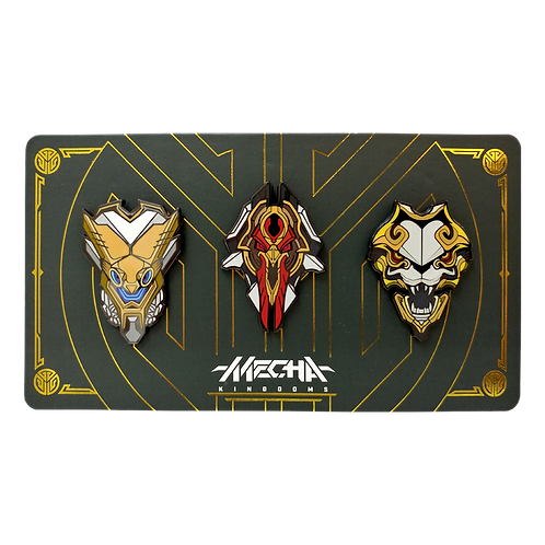 LOL - Mecha Kingdoms Pin Pack 機甲肯國 別針包