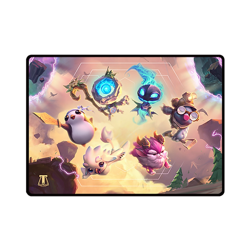 "LOL - TFT ""Little Legends"" Mousepad"
