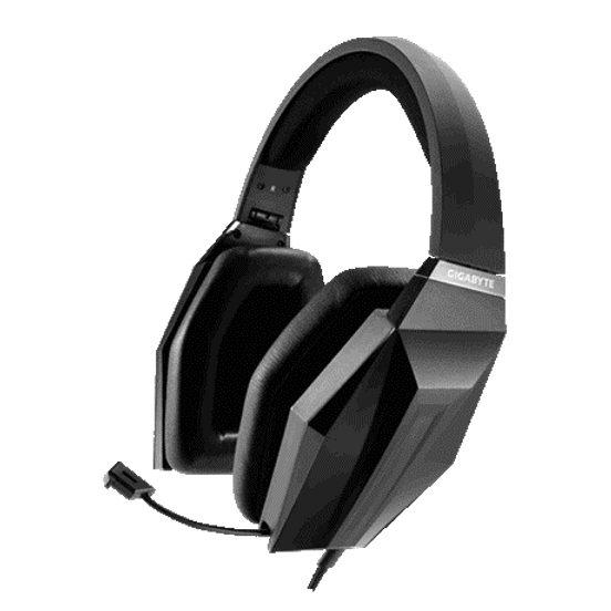 Real 5.1 channel surround sound through USB interface USB sound card embedded Touch control panel for fast audio adjustment Comfort for prolonged gaming sessions GIGABYTE Audio Engine for personalized EQ settings On-the-go retractable design