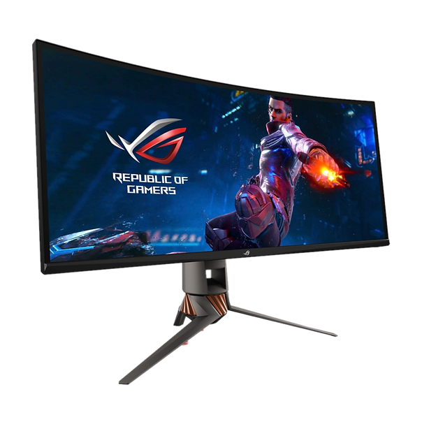 The Asus ROG Swift PG349Q is a great mid-range gaming monitor that is just as good for professional tasks including photo/video editing, and offers tons of features including Nvidia G-Sync technology, all for a reasonable price.