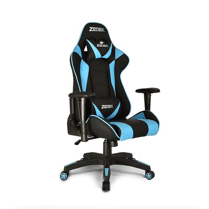 Zenox  Saturn Racing Chair (Sky Blue)