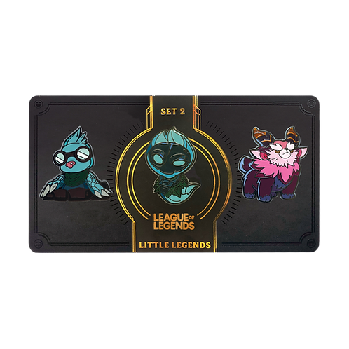 LOL - Little Legends Pin Pack 02 小小傳奇 別針包 02