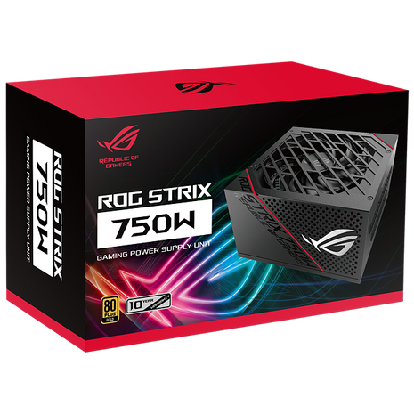 ASUS ROG Strix 750W 80 PLUS® Gold Fully Modular
