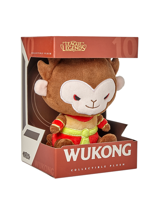 LOL - Wukong Plush 悟空 毛絨公仔
