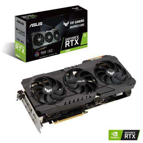 ASUS TUF GAMING GeForce RTX™ 3090 OC 24GB GDDR6X