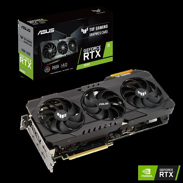 "繪圖核心 NVIDIA® GeForce RTX™ 3090 匯流排規格 PCI Express 4.0 OpenGL OpenGL®4.6 記憶體形式 GDDR6X 24GB CUDA 核心數 10496 Memory Speed 19.5 Gbps 記憶體介面 384-bit 解析度 數位最高解析度:7680x4320 介面 HDMI 輸出: Yes x 2(Native) (HDMI 2.1) Display Port: Yes x 3(Native) (DisplayPort 1.4a) HDCP 支援 : Yes Maximum Display Support 4 NVlink/ Crossfire Support Yes Recommended PSU 750W (Please reference NVIDIA's website for more information) 電源連接器 2 x 8-pin 配件 1 x Collection card 1 x Speedsetup manual 1 x TUF certificate of Reliability 軟體 ASUS GPU Tweak II & Driver, please download all software from the support site. 產品尺寸 11.81 "" x 5 "" x 2.04 "" 吋 29.99 x 12.69 x 5.17 公分 Slot 2.7 slot"