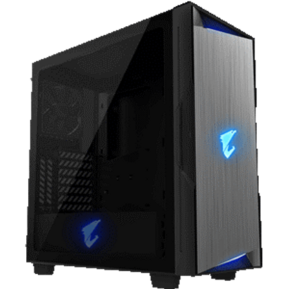 Full-Size 4mm Tempered Glass Side Panel With HDMI and USB 3.1 Gen2 Type-C on I/O Panel RGB Fusion 2.0 - Synchronize RGB Lighting with other AORUS Devices Support Vertical and Horizontal VGA Installation Liquid Cooling Compatible PSU Shroud Design Detachable Dust Filter