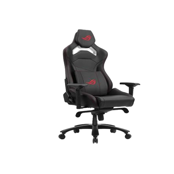 ROG Chariot Core Gaming Chair evokes the style and sensation of taking the driving seat of high-end racing car. With high-density foam headrest, memory-foam lumbar support, breathable PU leather, 4D-adjustable armrests, lockable tilt mechanism and highly-durable components, Chariot Core cossets you in safe, comfortable style – and empowers you to project your own personality in any gaming arena.