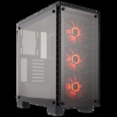Corsair Crystal Series 460X RGB Compact ATX Mid-Tower Case