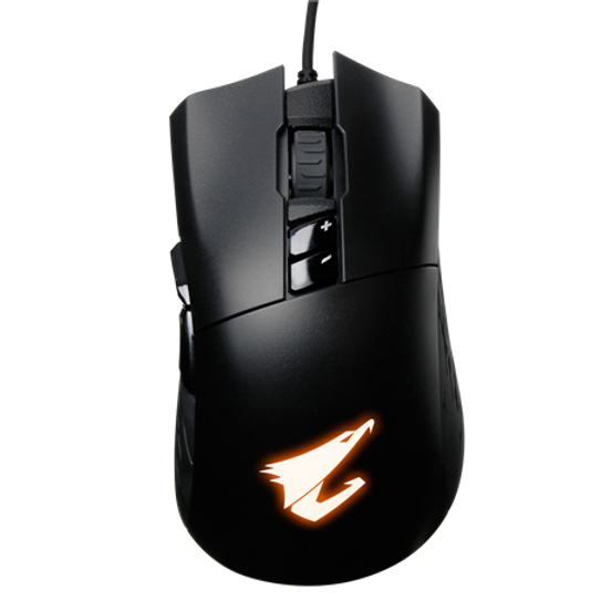Real 6400 DPI Optical Engine 20-million-click Omron Switch RGB Fusion 2.0 – synchronize with other AORUS devices On-the-fly DPI Adjustment Anti-slip Rubber Grips Teflon Mouse Feet