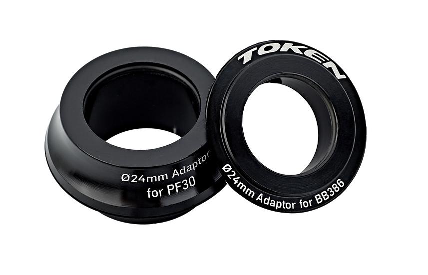 Adaptadores Token 30mm - BB-Right 24mm