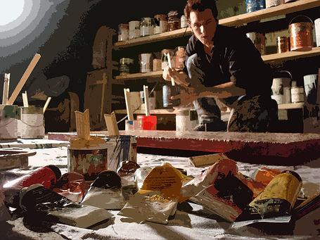 Michael G. Leonard painting