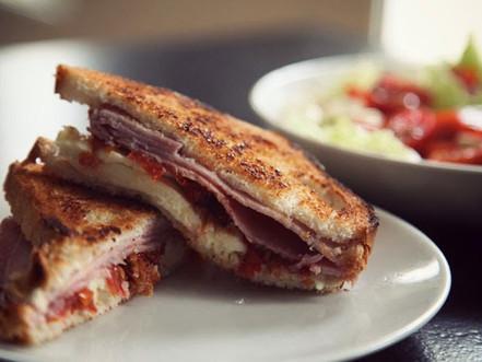 INTO MY KITCHEN : CHEESE SANDWICH