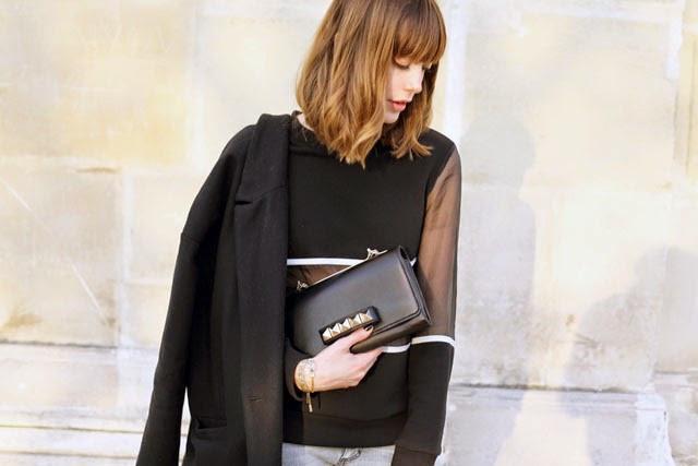 harmony paris, look, outfit, mode, fashion, blogger , blog , paris, street style paris, american vintage, levi's, jonak, valentino, vavavoom , i