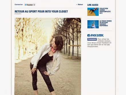 ON LE COQ SPORTIF'S BLOG