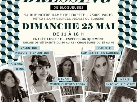 SAVE THE DATE // VIDE DRESSING 25/05/14
