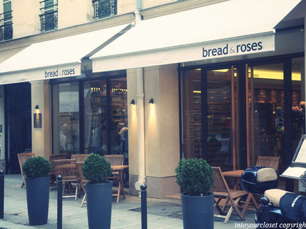 A PLACE TO EAT IN PARIS : BREAD & ROSES